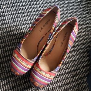 Boho Multi Color Pumps